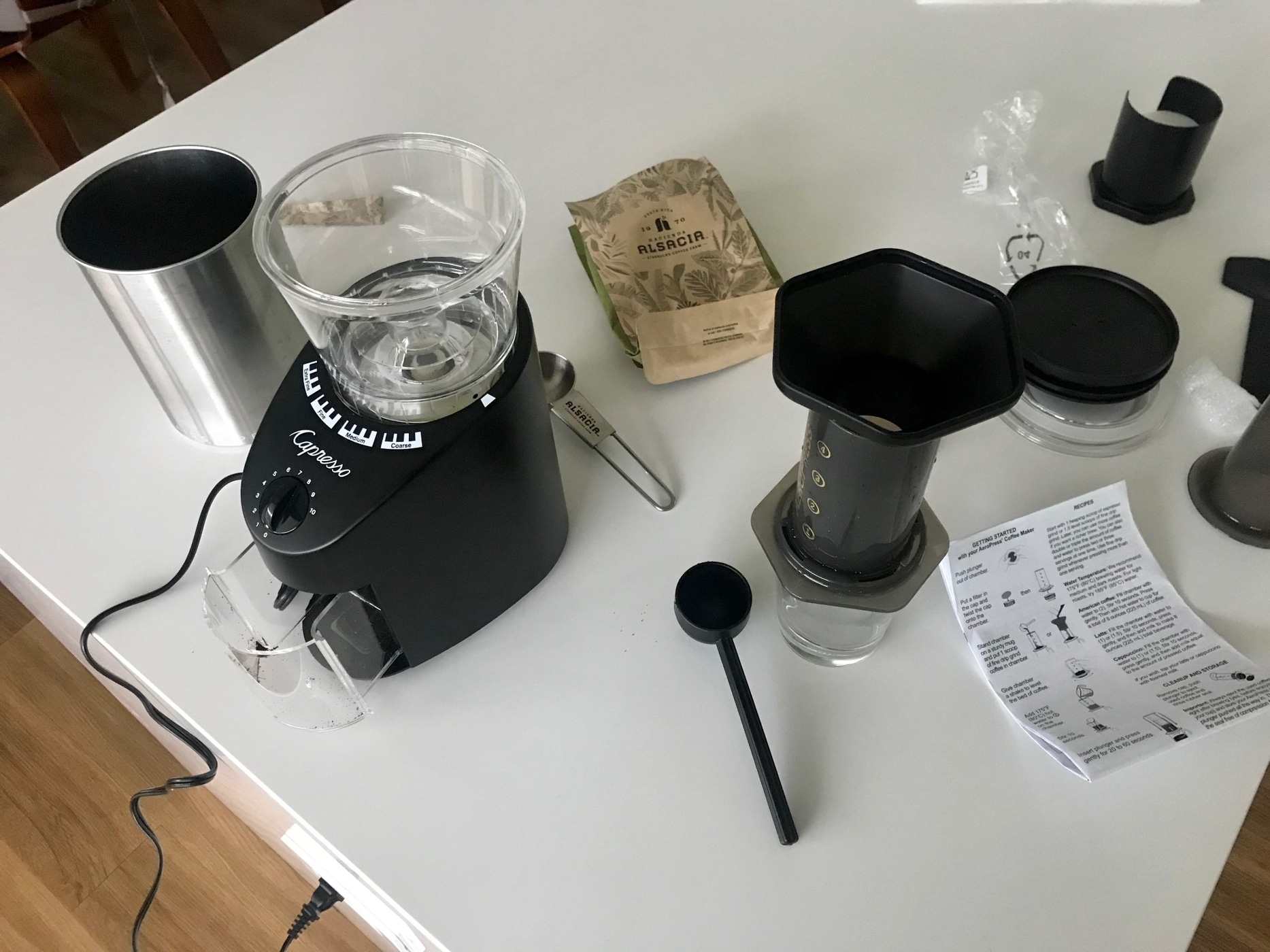 fathers day was really great for my coffee hobby.